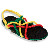 Signature Neptune Rasta Rope Sandals