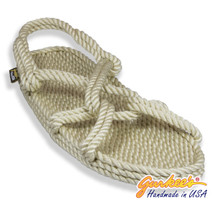 Classic Barbados Natural Rope Sandals