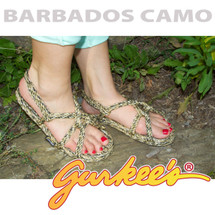 Signature Barbados Camo Rope Sandals