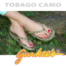 Signature Tobago Camo Rope Sandals