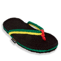 Signature Tobago Rasta Rope Sandals