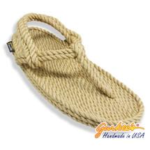 Classic Trinidad Tan Rope Sandals