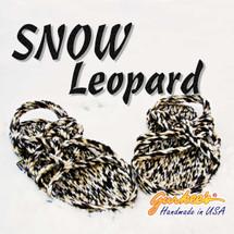Neptune Snow Leopard Rope Sandals