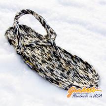 Signature Trinidad Snow Leopard Rope Sandals