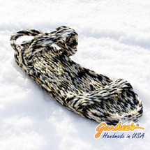 Signature Montego Snow Leopard Rope Sandals