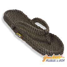 Classic Tobago Charcoal Rope Sandals