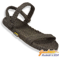 Classic Montego Charcoal Rope Sandals