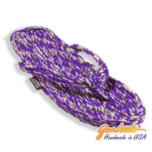 Tobago Purple Tie Dye Rope Sandals