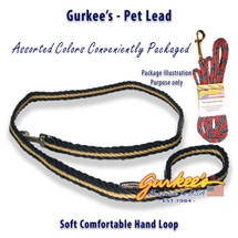 Navy & Gold Pro Pet Lead