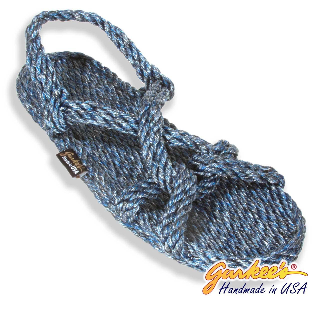 eabbdbfbc93c ... Signature Barbados Blue Ice Rope Sandals. Loading zoom