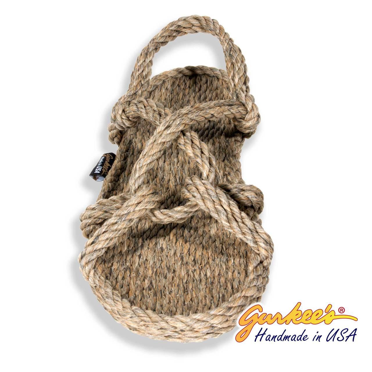 dc51df73eba Signature Barbados Hemp Color Rope Sandals - Gurkee s