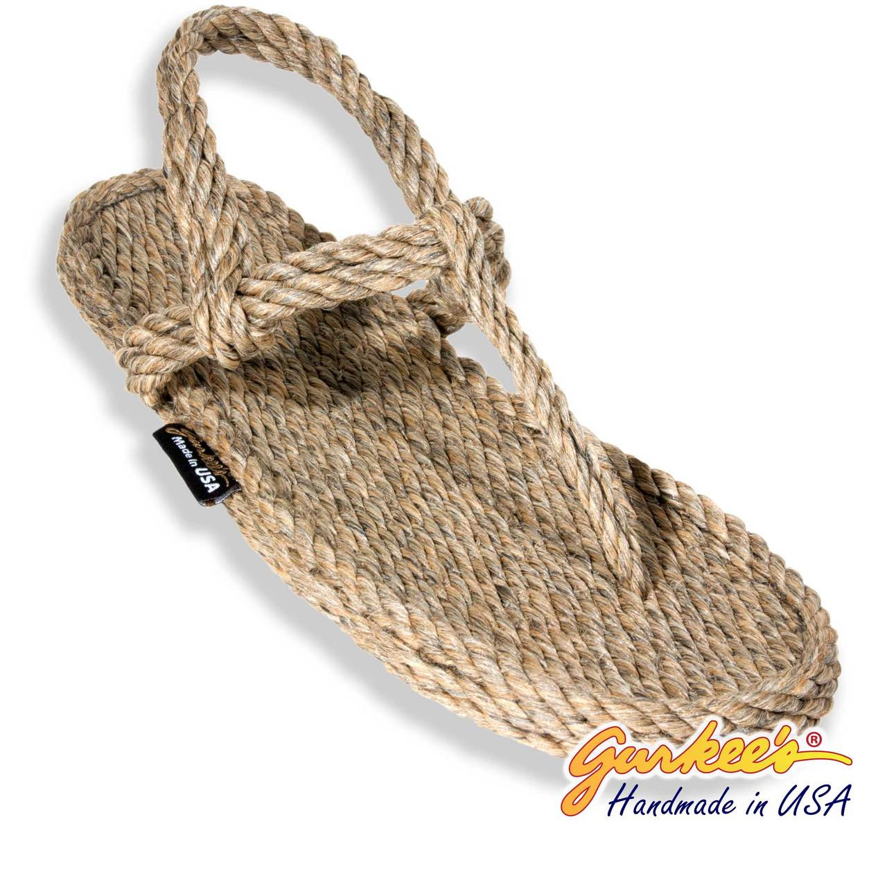 a1ccf667893e Signature Trinidad Hemp Color Rope Sandals - Gurkee s