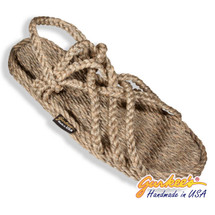 Braided Bunch Neptune Hemp Color Rope Sandals