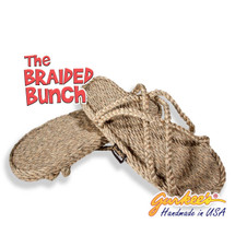 Braided Bunch Bahama Hemp Color Rope Sandals