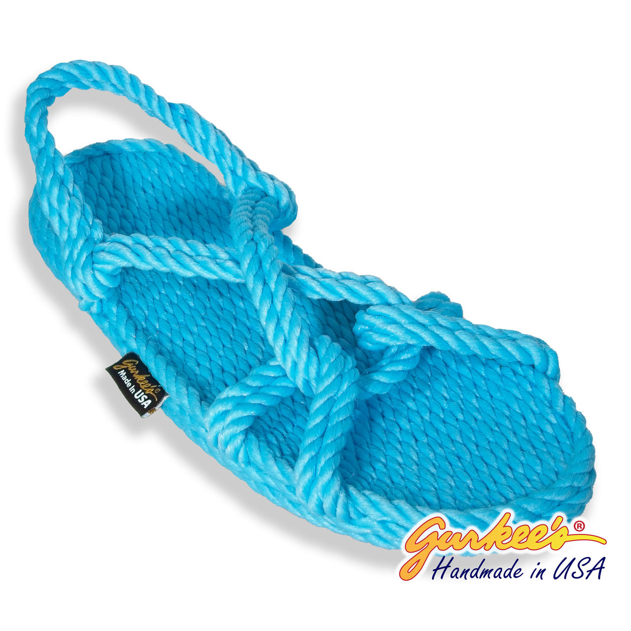 5c0e7ee62261 ... Classic Barbados Cotton Candy Color Rope Sandals. Loading zoom