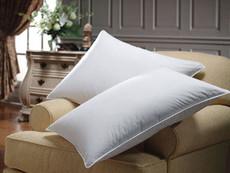 White Goose Down Pillow - Hotel Style - WGDPIW