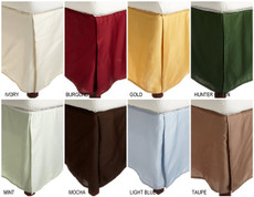 Egyptian Cotton Bed Skirts