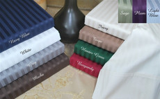 Aloha Collection - 400 Thread Count Queen Egyptian Cotton Sheets