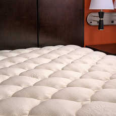 Extra Plush Bamboo Mattress Topper