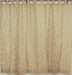 Peacock Curtains Blue Indian Cotton Window Panels With