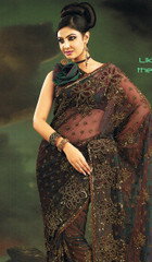 Wedding Bollywood India Dress Outfit Fashion Sari Saree