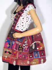 Kutch Embroidery Artisan Made Fashion Shoulder Bag
