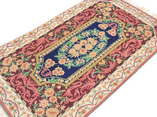 Suzani Kashmir Wall Rug Mughal Design Tapestry Art Luxury Beautiful Handicrafts