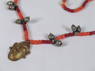Ethnic Tribal Pendant Necklace Belly Dance Jewelry