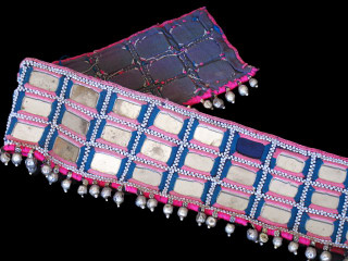 KUTCHI MIRROR BANJARA TRIBAL TEXTILE BELLY DANCE BELT