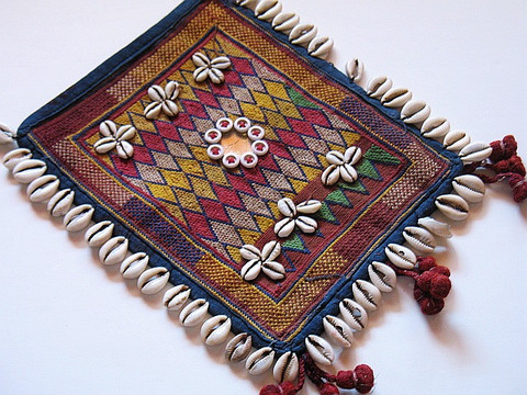 Indian Kutch Textile Vintage Hand Embroidered Patch