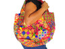 Fine Banjara Embroidery Luxury Handbag - Multicolor Ethnic Hobo Shoulder Bag
