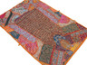 """Bohemian Living Room Wall Hanging - Beaded Decorative Indian Decor Tapestry 60"""""""