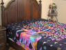 Elephant Reversible Duvet Cover Bedding - Green Multicolor Tree of Life Comforter ~ Double