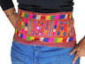 Bohemian Belly Dance Belt Tribal Fashion Embroidered Mirror Trim Accessory