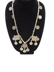 Ethnic Fashion Kuchi Necklace Kuchi Pendant Eclectic Tribal Coin Necklet