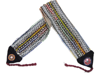 Handmade Banjara Beaded Embroidered Belt - Dance Costume Accessory ~ One Size