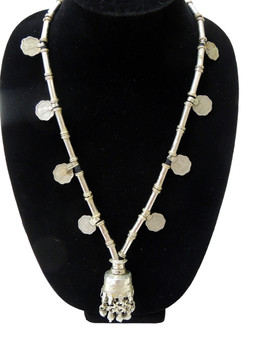 Vintage Belly Dance Banjara Necklace Pendant Handcrafted Accessory Coin Jewelry