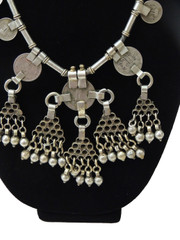 Unique Handmade Coin Necklace – Tribal Banjara Belly Dancing Vintage Ethnic Jewelry from India