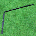 ProtectaPet® Cat Fence Left Corner Extra Long Bracket