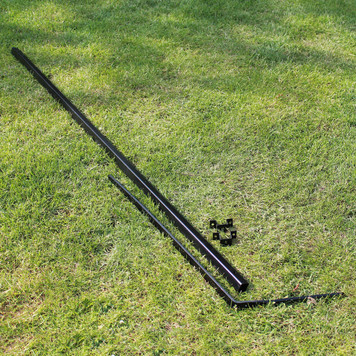 This is a ProtectaPet® Cat Fence Extension Intermediate Post to cat proof the perimeter of a garden fence or wall which is between 2ft - 5ft tall (0.6 -1.5 metres). The extension kit is designed to fit fence wooden posts or low walls.