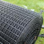 Galvanised Steel Mesh for longevity.