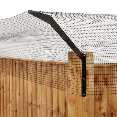 ProtectaPet Cat Fence Right External Corner Bracket