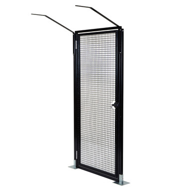ProtectaPet® Single Gate with bolt downs on patio