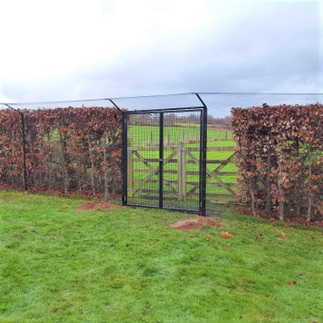 ProtectaPet® Double Gate in use.