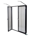 ProtectaPet® Double Gate with Bolt Downs