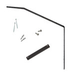 ProtectaPet Cat Fence Extra Long Bracket with Corner Adapter (bi orientated for left and right corners)