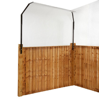 ProtectaPet® Cat Fence Extension Barrier for pre-existing boundaries that are 3 to 5ft tall.
