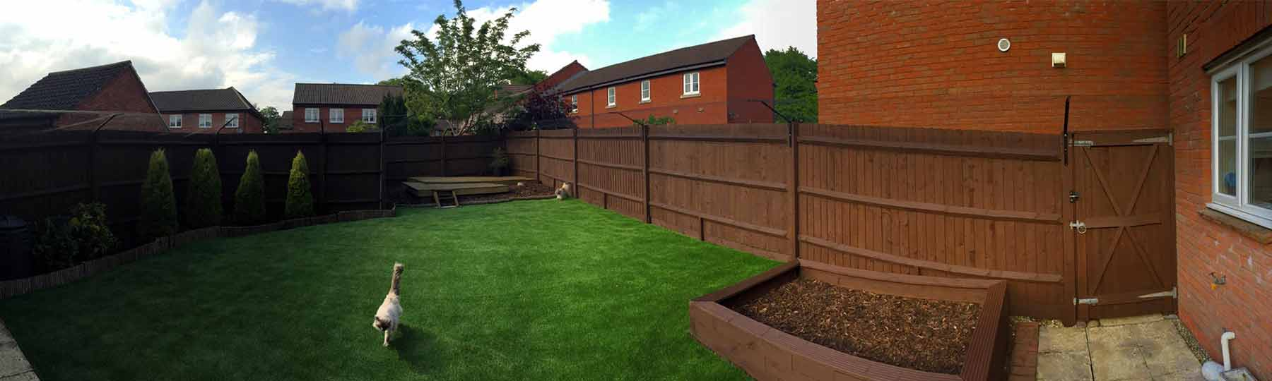 Neat and simple to fit to your existing fence