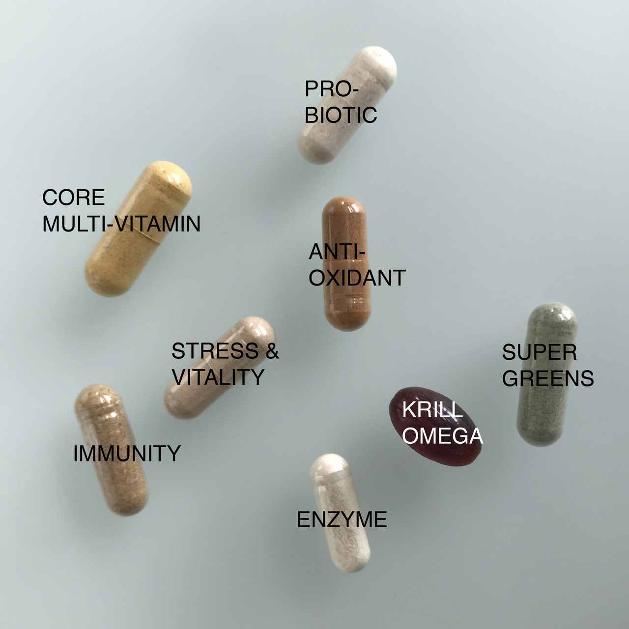 8 Individual supplements in each packet