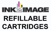 1 x Refillable Cartridge for the Epson Pro 7500 with 1 x 0.5 Liter Bottle of i2i Absolute Match E95 pigment ink - Black